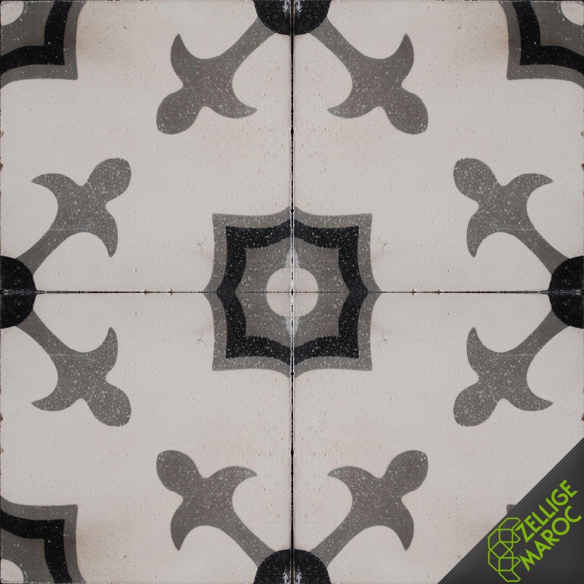 Carreaux ciment c52 zellige maroc - Carreaux ciment maroc ...