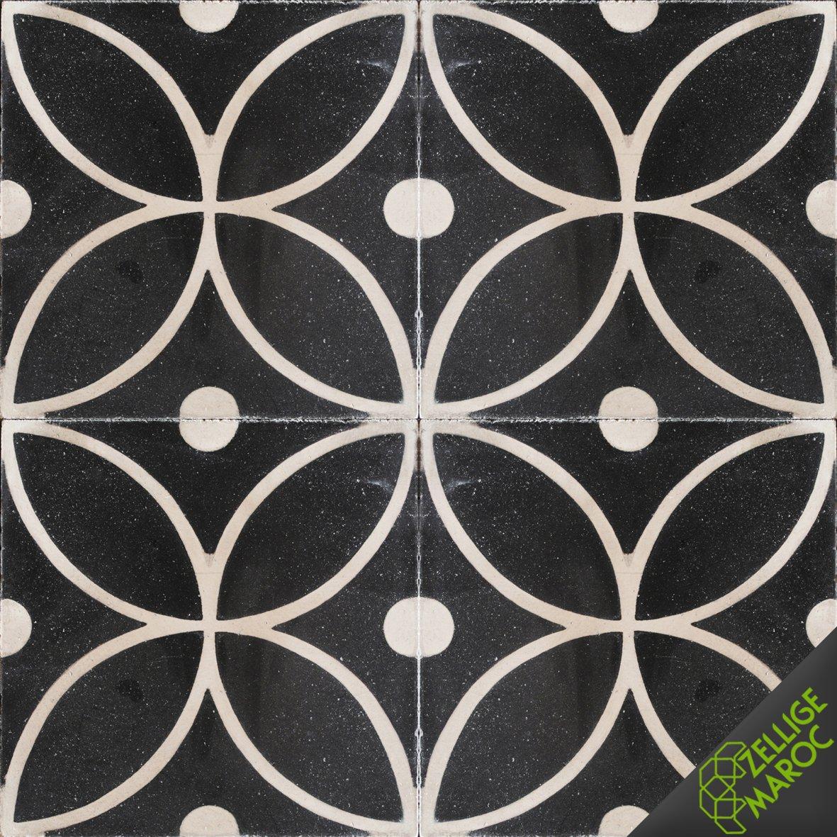 carreaux ciment n10 zellige maroc. Black Bedroom Furniture Sets. Home Design Ideas