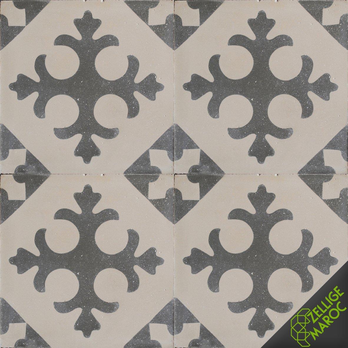 carreaux ciment t09 zellige maroc. Black Bedroom Furniture Sets. Home Design Ideas