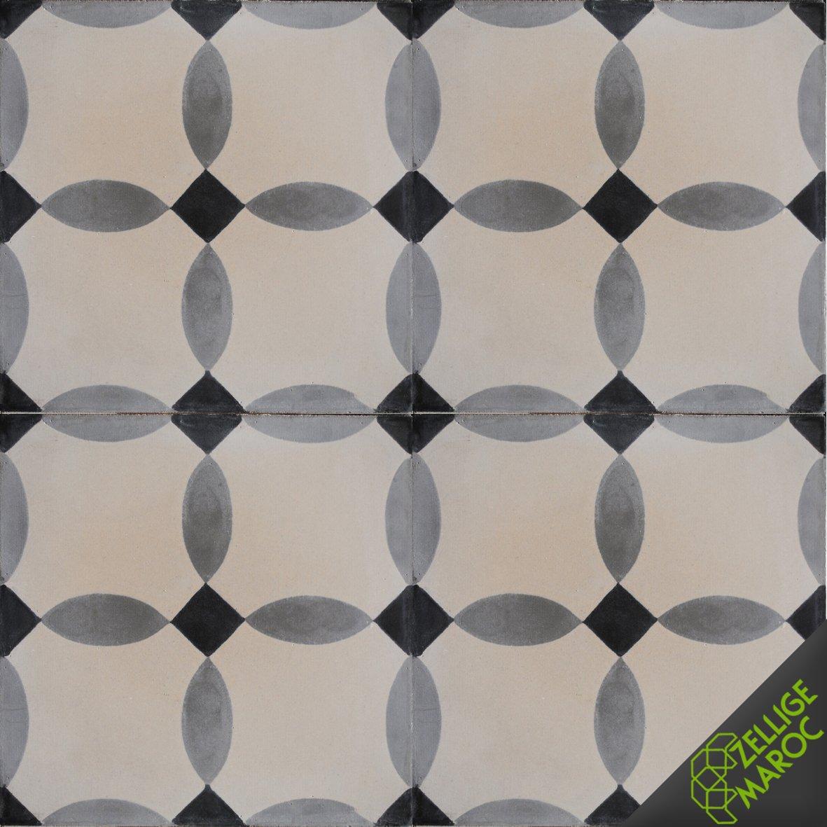carreaux ciment t113 zellige maroc. Black Bedroom Furniture Sets. Home Design Ideas